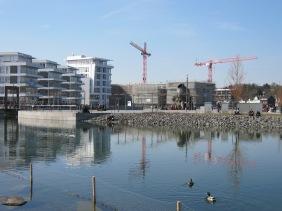 Das Hafenquartier im Frühjahr 2013 | Bildrechte: nickneuwald