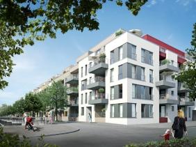 Port 11 an der Hörder-Bach-Allee | Visualisierung: Interboden Innovative Lebenswelten GmbH & Co. KG