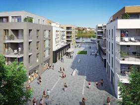 Port PHOENIX am Rudolf-Platte-Weg | Visualisierung: Interboden Innovative Lebenswelten GmbH & Co. KG