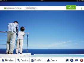 Startseite von Animus, dem Quartiersnetzwerk von Port PHOENIX