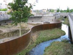 Hörder Bach samt Bodendenkmal nach einem Hochwasser in 2013 | Bildrechte: nickneuwald