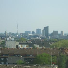 Ausschnitt der Dortmunder Skyline   Bildrechte: nickneuwald