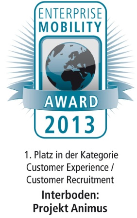 Enterprise Mobility Award 2013