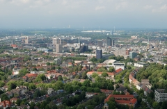 Dortmunder Skyline, August 2010 | Quelle: Mbdortmund | Wikimedia Commons