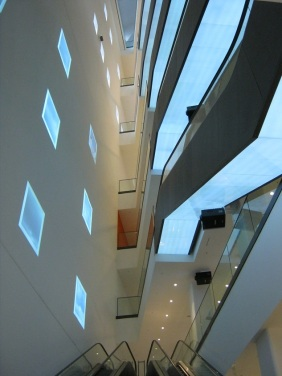 die grandiose Kunstvertikale im U-Turm, 2012 | Bildrechte: nickneuwald