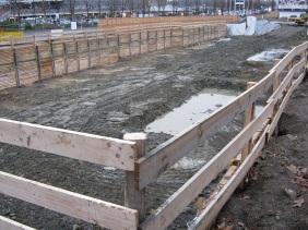 die Baugrube im Dezember 2012 | Bildrechte: nickneuwald