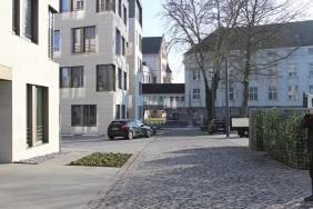das Hafentor, Freundlieb-Verwaltung und Hörder Burg, Dezember 2013 | Bildrechte: nickneuwald