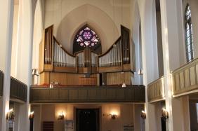 in der Lutherkirche | Bildrechte: nickneuwald