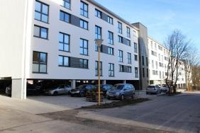 Neubau Studentenwohnheim | Bildrechte: nickneuwald