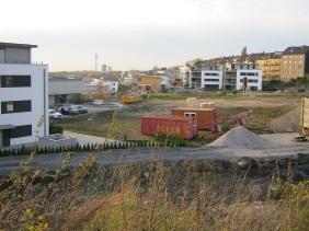 Wohnbebauung an der Seehöhe, Oktober 2013 | Bildrechte: nickneuwald