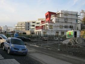 Mehrfamilienhäuser an der Kohlensiepenstraße, Oktober 2013 | Bildrechte: nickneuwald