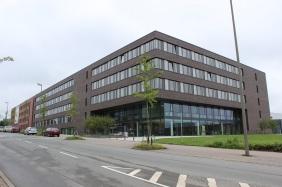 Neubau Fakultät für Informatik und das IT & Medienzentrum (ITMC) | Bildrechte: nickneuwald