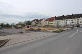 Neubaumaßnahme an der Hermannstraße im April 2014   Bildrechte: nickneuwald