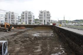 Port PHOENIX, Baufeld 1, 9. Mai 2014   Bildrechte: nickneuwald