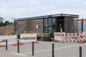 Interboden Vertriebsbüro am Rudolf-Platte-Weg   Bildrechte: nickneuwald