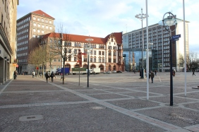 Die Berswordt-Halle im Stadthaus-Komplex | Bildrechte: nickneuwald