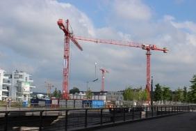 Baustelle Port PHOENIX im Juli 2014 | Bildrechte: nickneuwald