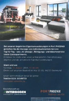 Flyer Port PHOENIX Infoveranstaltung