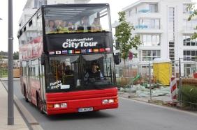 Doppeldeckerbus am PHOENIX See | Bildrechte: nickneuwald