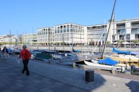 Das Hafenquartier von seiner (neuen) Schokoladenseite | Bildrechte: nickneuwald