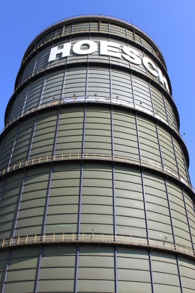 HOESCH-Gasometer auf PHOENIX West | Bildrechte: nickneuwald
