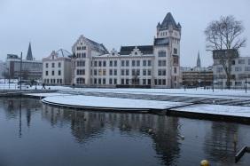 Hörder Hafenquartier im Winter 2014/15   Bildrechte: nickneuwald