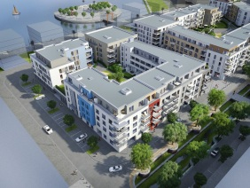 Port PHOENIX, 1. Bauabschnitt | Visualisierung: Interboden Innovative Lebenswelten GmbH & Co. KG