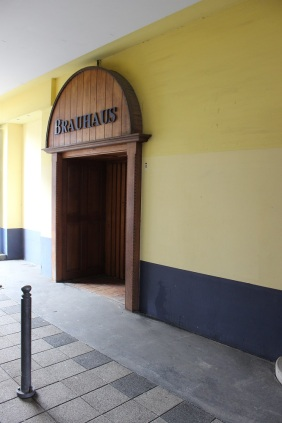Eingang ehemaliges Braushaus | Bildrechte: nickneuwald