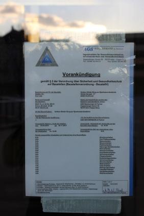 Bauvorankündigung Hörder Burg | Bildrechte: nickneuwald