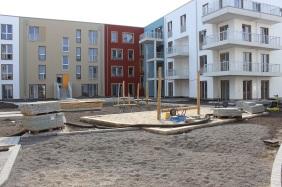 Port PHOENIX, Innenhof 1. Bauabschnitt | Bildrechte: nickneuwald