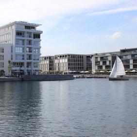 Das Hafenquartier im Juli 2015 | Bildrechte: nickneuwald