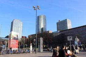 Hochhäuser in der Dortmunder Innenstadt   Bildrechte: nickneuwald