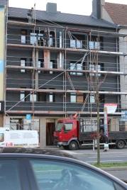 """""""Winkelmann-Haus"""" an der Rheinischen Straße, Dezember 2013   Bildrechte: nickneuwald"""