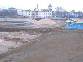 Das Hafenquartier im März 2010 | Bildrechte: nickneuwald