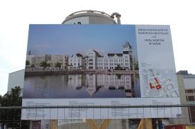 Anbau Sparkassenakademie & Hampton by Hilton, Juni 2016 | Bildrechte: nickneuwald