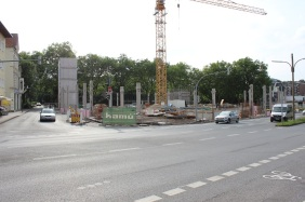 künftiger Media Markt an der Faßstraße | Bildrechte: nickneuwald