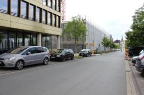 Bürogebäude auf Baugrundstück 310 | Bildrechte: nickneuwald