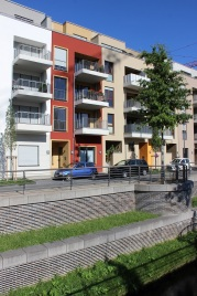 Port PHOENIX – Wohnen am Kai, erster Bauabschnitt   Bildrechte: nickneuwald