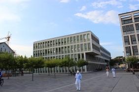 Hafenquartier des Dortmunder PHOENIX Sees, Ende September 2016 | Bildrechte: nickneuwald